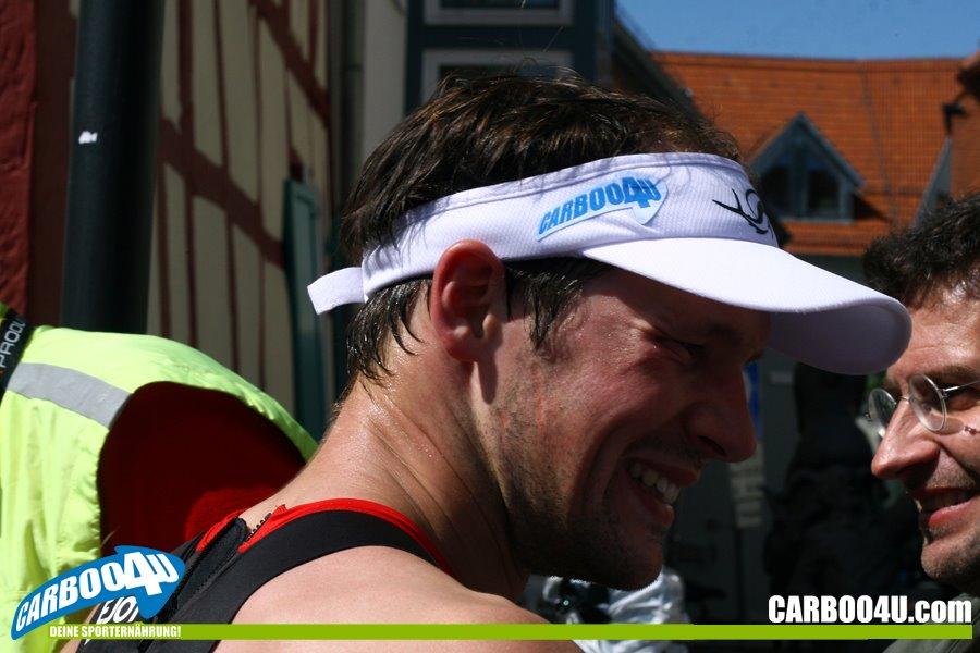 Foto: Thomas Zöller - Ein strahlender und sportlich überlegener Sieg für Patrick Lange