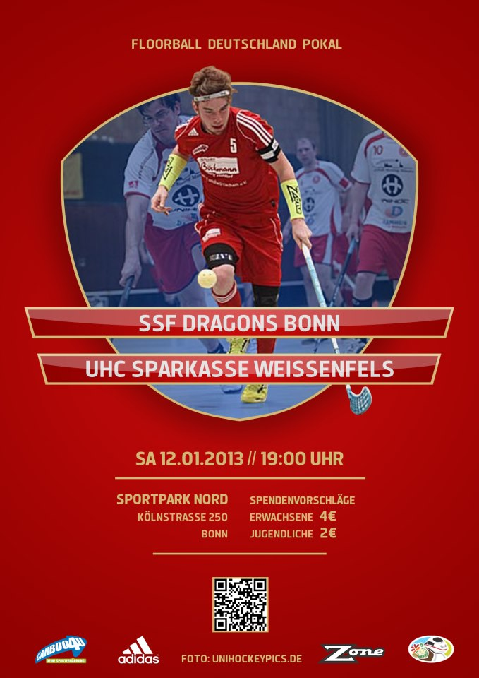 SSF Dragons powered by Carboo4U im Pokal-Viertelfinale