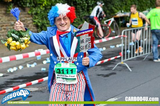 Training für den Hochwald Mittelrhein Marathon 2013 mit Carboo4U - Deine Sporternährung!