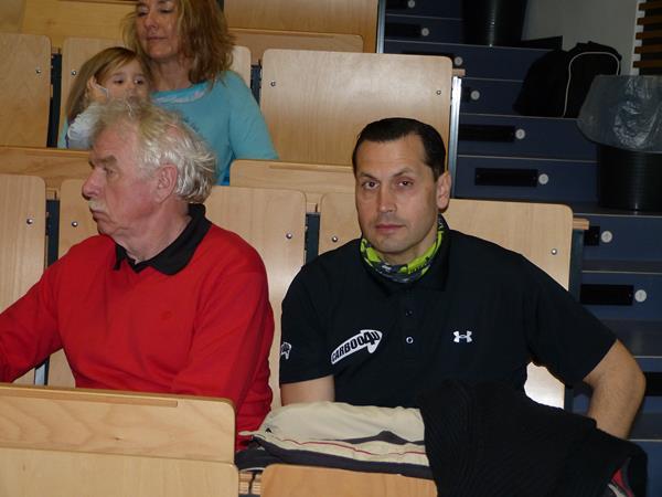 Foto: Erich Schulz - Erste Bilder vom gestrigen Carboo4U Vorbereitungseminar und Impulsvortrag beim Vorbereitungseminar für den Mittelrhein Marathon 2013