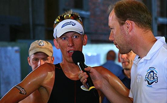 Carboo4U-Sportler vor Ort - Olli Strankmann und der Bonn Triathlon