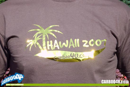 Carboo4U - wo alles begann - Hawaii ist immer ein Ziel - sicher auch für alle Ironman, die in Frankfurt starten