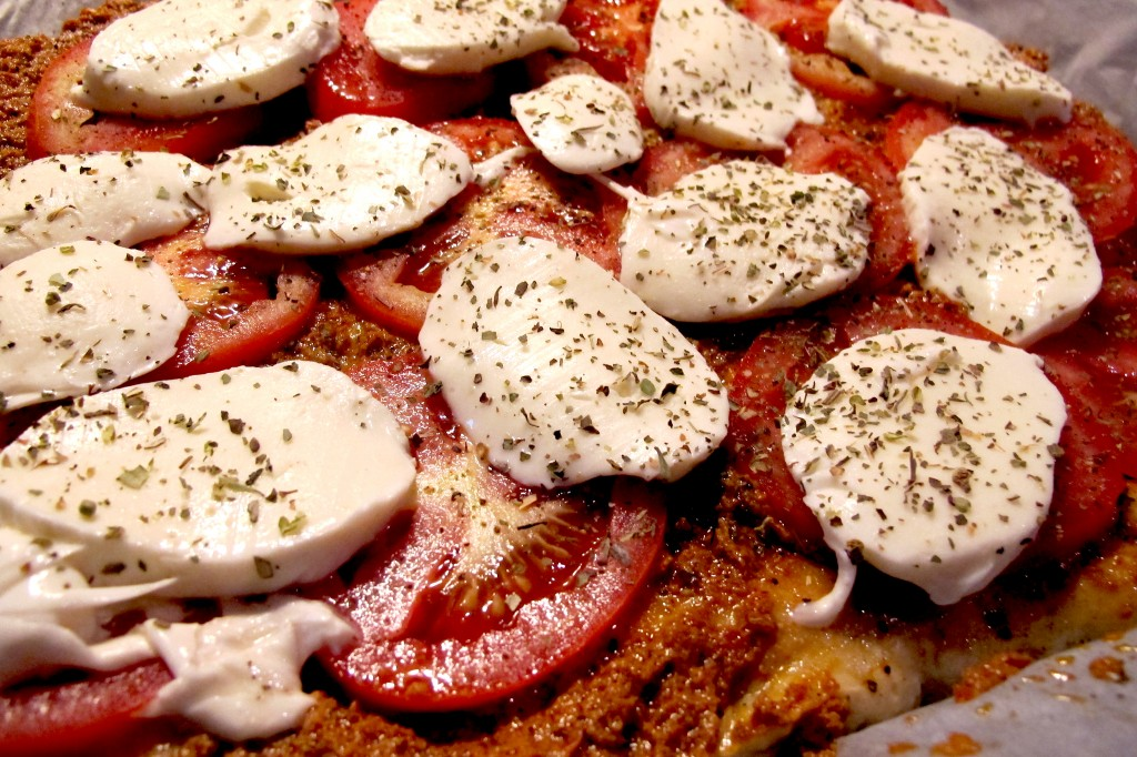 Entstehung - FITTER INS LEBEN Tomate Mozzarella PIZZA a la chef