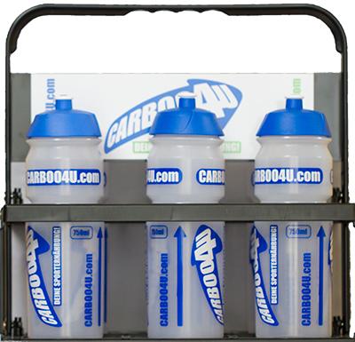 Carboo4U Flaschenträger - Das richtige Mannschaftsding - jetzt in schwarz