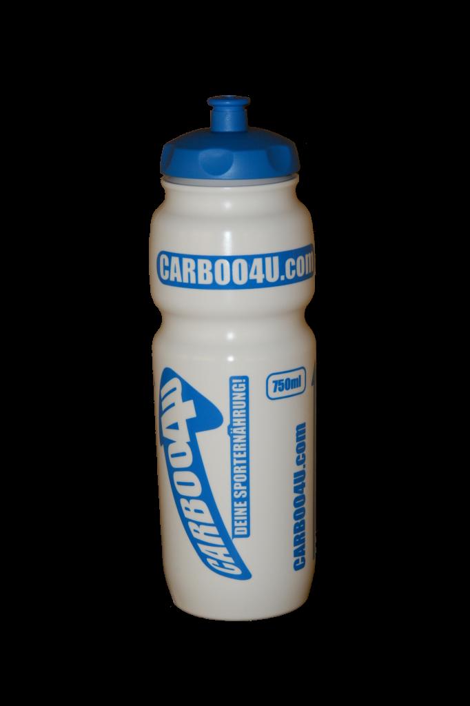 Carboo4U Sportflaschen - Die Flasche der Profis - 750ml Sport Radfahren Flasche