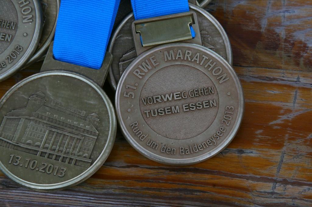 zwei Medaillen