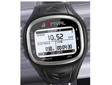 Carboo4U Produkt-Tipp - A-Rival Spoq, Schwarz, SQ100 - Preis-Leistungssieger unter den GPS-Uhren